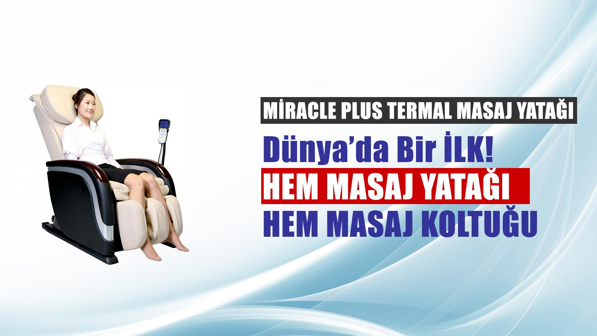 Miracle Plus Termal Masaj Yatağı