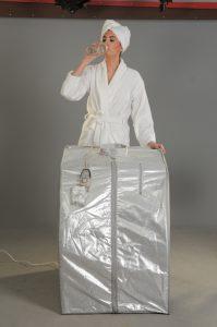 portatif sauna